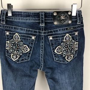 Miss Me Signature Straight Jeans Size 27